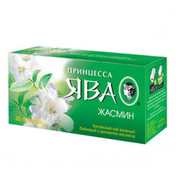Чай зеленый Принцесса Ява «Жасмин» 25пак.