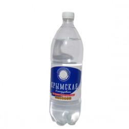 Вода минеральная Крымская газированная 1л.