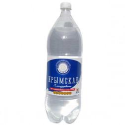 Вода минеральная Крымская газированная 2л.