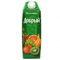 Нектар Добрый мультифрут 1л.