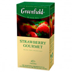 Чай черный Greenfield «Strawberry Gourmet » 25пак.