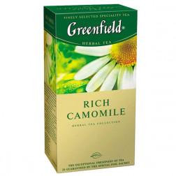 Чай травяной Greenfield «Rich Camomile» 25пак.