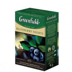 Чай черный Greenfield «Blueberry Nights » 100гр.