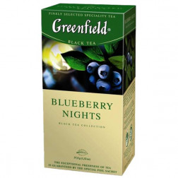 Чай черный Greenfield «Blueberry Nights » 25пак.
