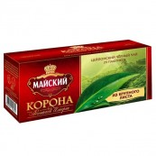 Чай черный Майский «Корона Российской Империи» 25пак.