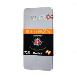 Шоколад  Bucheron  горький шоколад с фундуком 100гр.