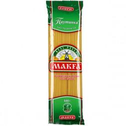 Макароны Макфа тонкие спагетти 500гр.