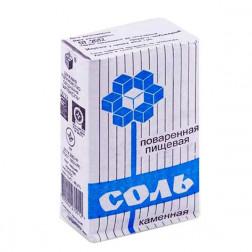 Соль Илецкая картон каменная, 1 кг.
