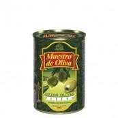 Оливки зеленые Maestro de Oliva без косточки 300гр.