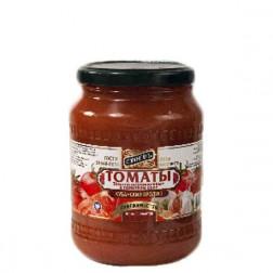 Томаты Стоевъ неочищенные в томатном соке 720гр.