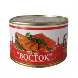 Бычки Во СТО Крат  в томатном соусе, 240гр.