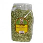 Горох Кубань-Матушка зеленый шлифованный колотый 800гр.