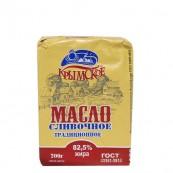 Масло сливочное Крымское традиционное 82,5% 200гр.