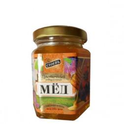 Мед цветочный Стоевъ натуральный 250гр.