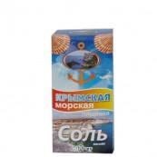 Соль Морская Крымская пищевая мелкая 800гр.