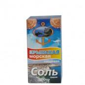Соль Морская Крымская пищевая средняя 800гр.