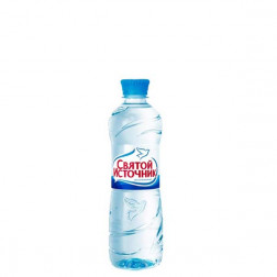 Вода питьевая Святой Источник н/газ 0,5л.