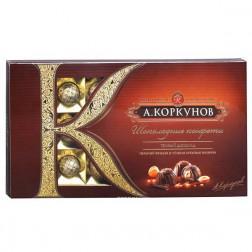 Набор конфет А.Коркунов «Ассорти. Темный шоколад» 190гр.