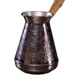 Турка для кофе медная «Цветок» 700 мл.