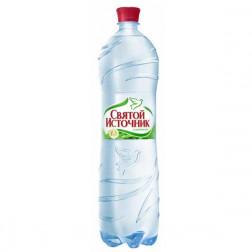 Вода питьевая Святой Источник газ 1,5л.