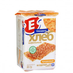 Хлебцы вафельные Елизавета кукурузные 80гр.