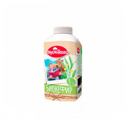 БиоКефир Вкуснотеево питьевой 1%, 450 гр.