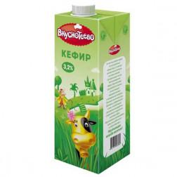 Кефир Вкуснотеево питьевой 3,2% 1000 гр.