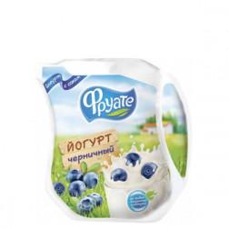 Йогурт питьевой Фруате  с черникой 1,5% 450гр.