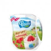 Йогурт питьевой Фруате  с клубникой 1,5% 450гр.