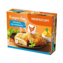 Мираторг котлета по-киевски 405гр.