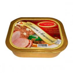 Паштет печеночный Любарушкин Продукт «Арденский с ветчиной» 250гр.