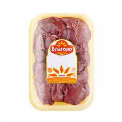 Печень куриная замороженная 0,9кг./уп.