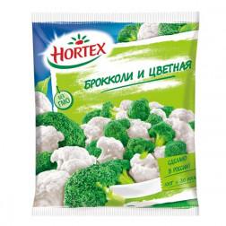 Смесь овощная Hortex брокколи и цветная 400гр.