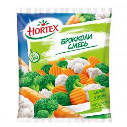 Смесь овощная Hortex брокколи 400гр.