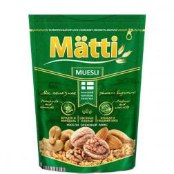 Мюсли Matti ореховый микс 250 гр.