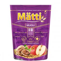 Мюсли Matti с орехом и яблоком 250 гр.
