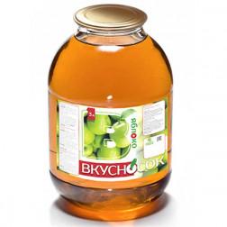 Напиток сокосодержащий ВкусноСок яблочный 3л.