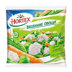 Смесь овощная Hortex Весенние овощи 400гр.