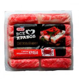 Крабовые палочки «Vici» с мясом натурального краба замороженные, 200гр.