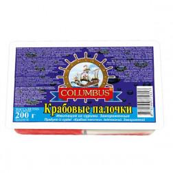 Крабовые палочки «Коламбус» замороженные 240гр.