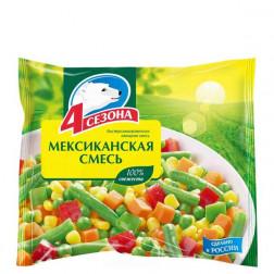 Смесь овощная «4 сезона» Мексиканская смесь 400гр.