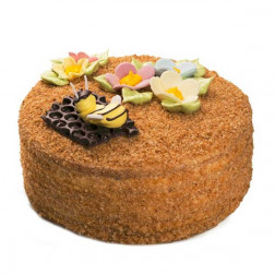 ПОД ЗАКАЗ! Торт «Медовик» 1 кг.