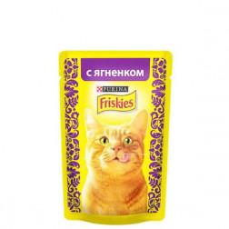 Корм для кошек Friskies с ягненком 85 гр.