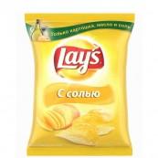 Чипсы Lays с солью 150гр.