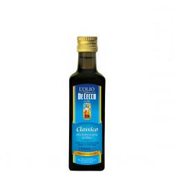 Масло оливковое De Cecco нерафинированное 0,25л.