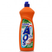Средство Aos для мытья посуды 900мл.