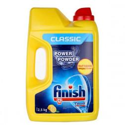 Порошок для посудомоечных машин Finish «Classic. Лимон» 2,5 кг.