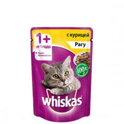 Корм для кошек Whiskas рагу с курицей 85 гр.