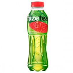 Холодный чай FuzeTea зеленый «Клубника и Малина» 0,5 л.