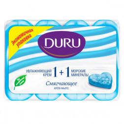 Кусковое мыло Duru «Морские минералы», 4х90гр.